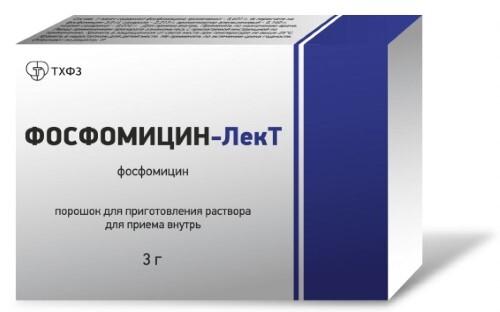 Купить ФОСФОМИЦИН-ЛЕКТ 3,0 N1 ПАКЕТ 8,0 ПОР Д/Р-РА Д/ПРИЕМА ВНУТРЬ цена