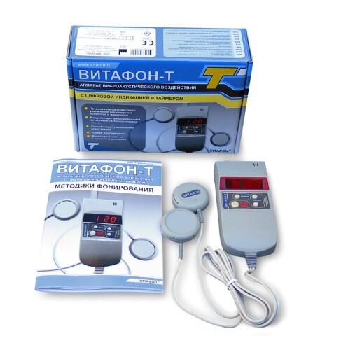 Купить Витафон-т аппарат виброакустического воздействия/цифровой индикатор/таймер цена