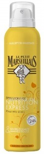 Купить Le petit marseil спрей увлажняющий для тела экспресс-питание масло карите  и сладкий миндаль 200мл цена