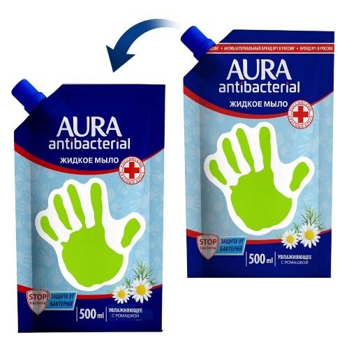 Купить Жидкое мыло для всей семьи с антибактериальным эффектом с ромашкой antibacterial 500мл цена