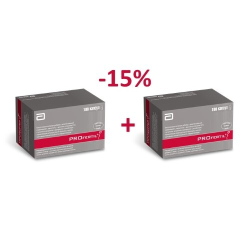 Купить Набор профертил n60 капс закажи 2 упаковки со скидкой 15% цена