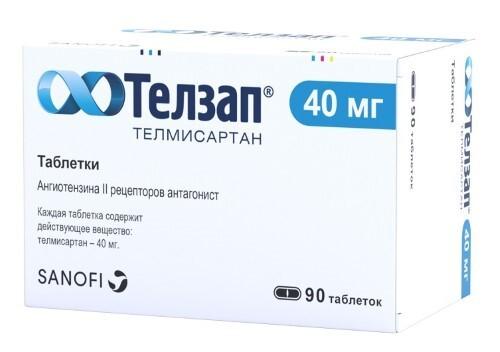 Купить Телзап 0,04 n90 табл цена
