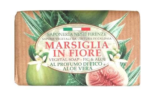 Купить Marsiglia in fiore мыло инжир и алоэ 125,0 цена