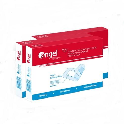 Повязка пластырного типа бактерицидная стерильная 15х9см n10/эверс/