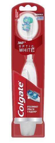 Купить 360 optic white зубная щетка электрическая цена