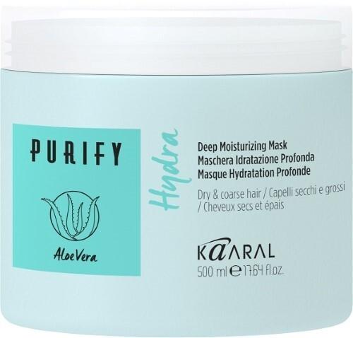 Купить Purify hudra маска интенсивная увлажняющая питательная для волос 500мл цена