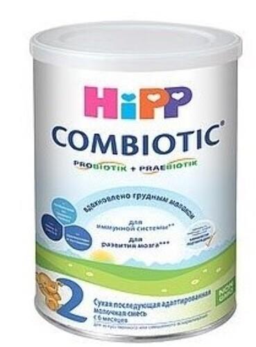 Купить HIPP 2 COMBIOTIC СМЕСЬ МОЛОЧНАЯ АДАПТИРОВАННАЯ СУХАЯ 350,0 цена