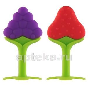 Прорезыватель с ножкой сладкая ягодка 4+