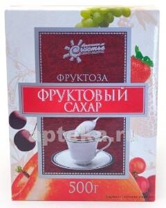 Купить Фруктоза (фруктовый сахар) 500,0 цена