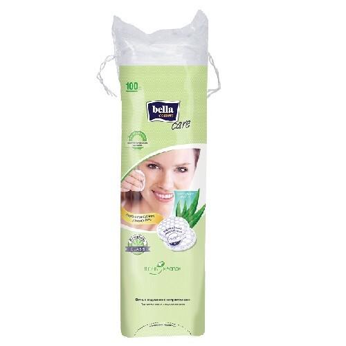 Купить Cotton care ватные подушечки с экстрактом алоэ n100 цена