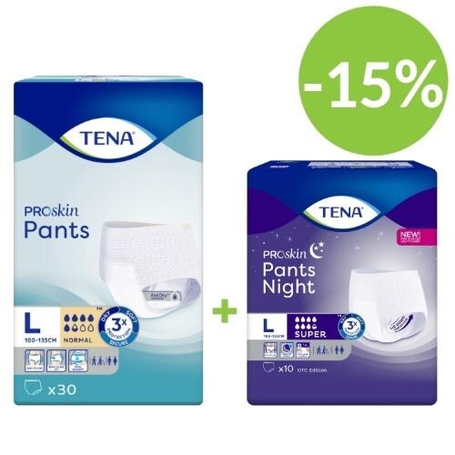 Купить Pants night super набор тена подгузники-трусы день pants normal №30 и ночь  super n10 (размер l) по специальной цене цена