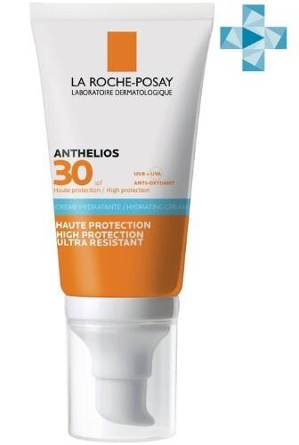 Купить Anthelios крем солнцезащитный увлажняющий для лица и кожи вокруг глаз spf 30 50мл цена