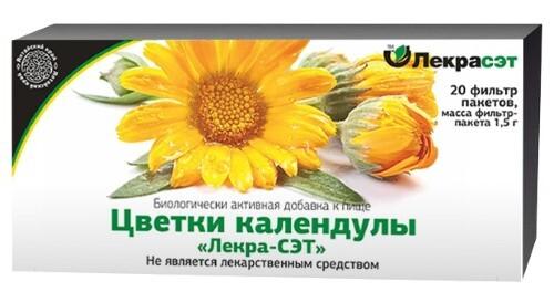 Купить Цветки календулы лекра-сэт цена