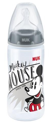Купить Fc+ бутылочка полипропиленовая с соской из силикона m 6-18m дисней микки маус 300мл/микки цена