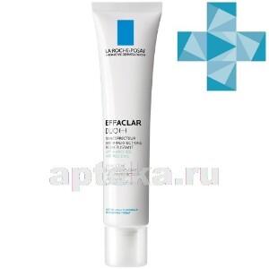 Купить Effaclar duo(+) корректирующий крем-гель для проблемной кожи против несовершенств и постакне 40мл цена