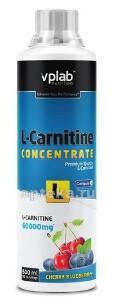 Купить Вплаб l-карнитин концентрат со вкусом вишни-черники цена