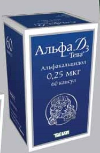 Купить Альфа д3-тева 0,25мкг n60 капс цена