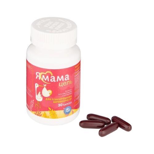 Купить Ямама пренатал комплекс мультивитаминов и минералов для планирования беременности цена