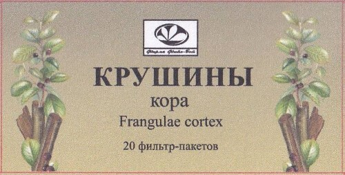 Купить КРУШИНЫ КОРА 2,0 N20 Ф/ПАК/ФИТО-БОТ/ цена