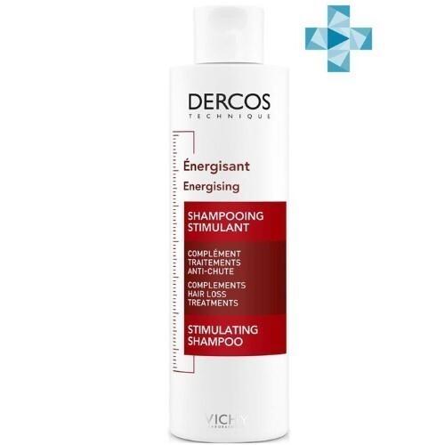 Купить Vichy dercos тонизирующий шампунь против выпадения волос 200мл цена