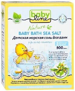 Купить Nature детская морская соль для ванн с чередой 500,0 цена