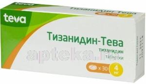 Купить Тизанидин-тева цена
