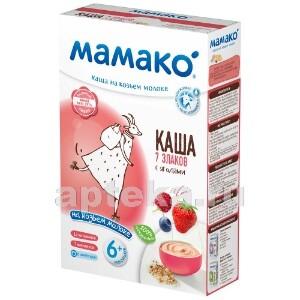 Купить Каша 7 злаков с ягодами на козьем молоке цена