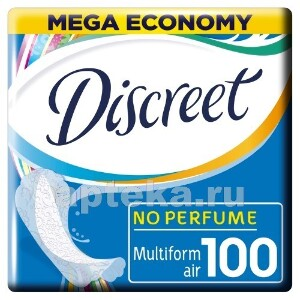 Купить Air multiform ежедневные гигиенические прокладки n100 цена