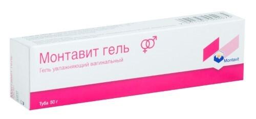 Купить Монтавит гель вагинальный увлажняющий 50,0 цена