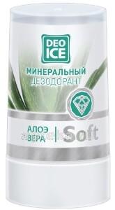 Купить Soft дезодорант минеральный алоэ вера 40,0 цена