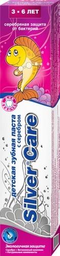 Купить Зубная паста для девочек с фтором /3-6л/ 50мл цена
