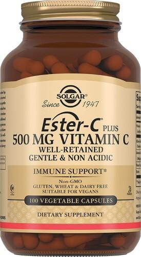 Эстер-с плюс витамин с 500мг