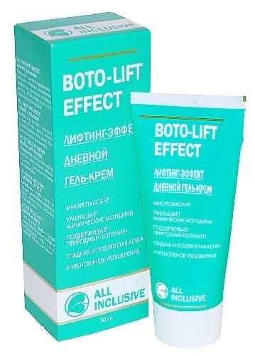 Купить Boto-lift effect гель-крем лифтинг-эффект дневной 50мл цена