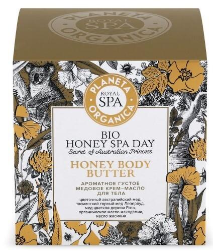 Купить Royal spa ароматное густое медовое крем-масло для тела 300мл цена