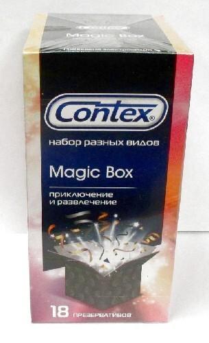 Презерватив  magic box набор приключение и развлечениеn18