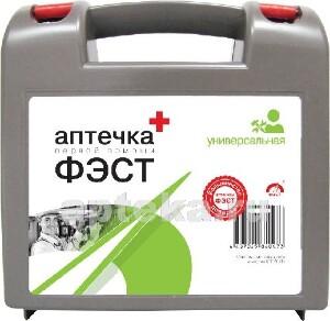 Купить Аптечка первой помощи фэст /универсальная/пластиковый футляр цена