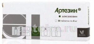 Купить АРТЕЗИН 0,004 N30 ТАБЛ цена