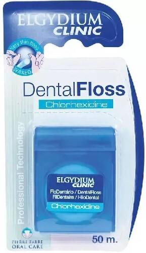 Купить Клиник зубная нить с хлоргексидином 50м цена