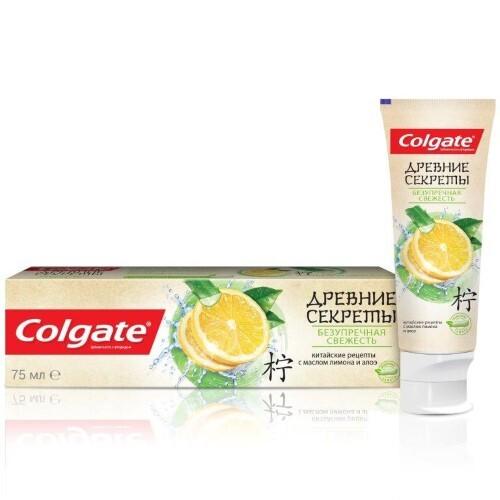 Купить Древние секреты безупречная свежесть зубная паста 75мл цена