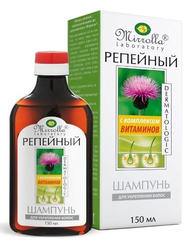 Купить Репейный шампунь с комплексом витаминов 150мл цена