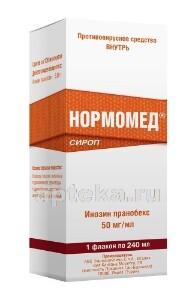 Купить НОРМОМЕД 0,05/МЛ 240МЛ СИРОП цена