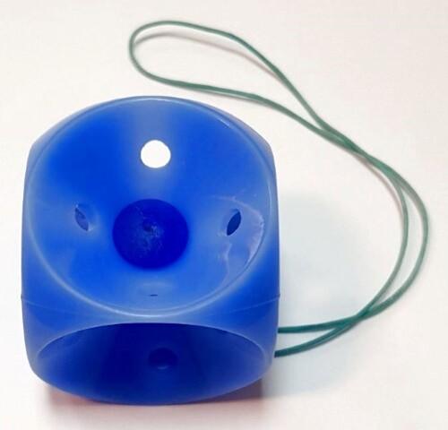 Купить Пессарий кубический с кнопкой перфорированный длина края 41мм /wplk4/ цена