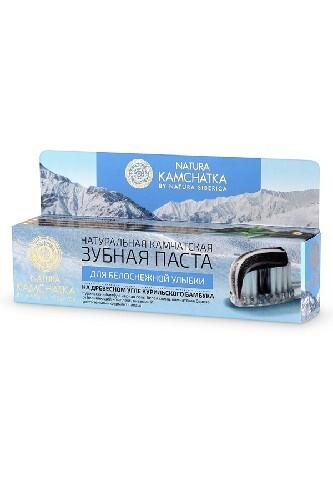 Купить Натуральная камчатская зубная паста для белоснежной улыбки 100мл цена