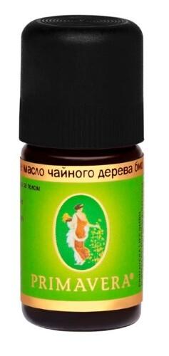 Купить Масло эфирное чайного дерева био 5мл/примавера лайф цена