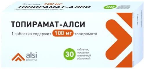 Купить Топирамат-алси цена