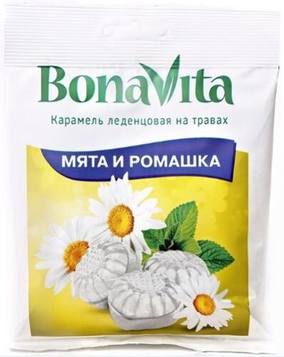 Купить Карамель леденцовая мята и ромашка с витамином с цена