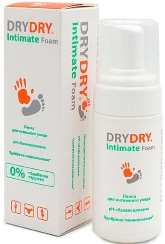 Купить Intimate foam  пенка для интимного ухода 100мл цена