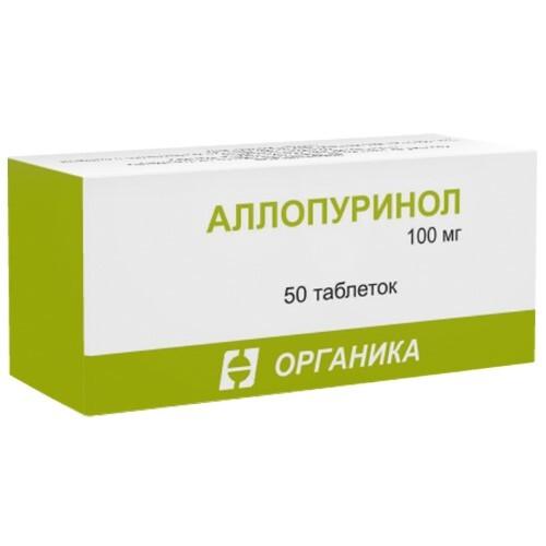 Купить АЛЛОПУРИНОЛ 0,1 N50 ТАБЛ /ОРГАНИКА/ цена