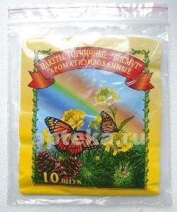 Купить Горчичник-пакет висмут ароматизированные n10 цена
