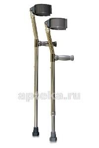 Купить Костыли amfc11 подлокотный «канадка» 55-77 см цена